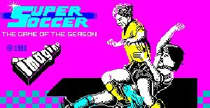 Super Soccer - ZX Spectrum de Imagine Software (1986)