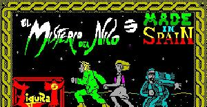 El Misterio del Nilo - ZX Spectrum de Made in Spain (1987)