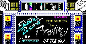 Prodigy - ZX Spectrum de Electric Dreams (1986)