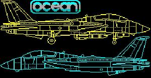 Top Gun - ZX Spectrum de Ocean Software (1987)