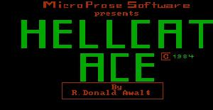 Hellcat ACE - PC MS-DOS de MicroProse Software (1984)