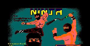 Ninja - Amstrad CPC de Entertainment USA (1987)