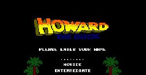 Howard the Duck - Amstrad CPC de Activision (1987)