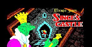 Dragon's Lair II: Escape from Singe's Castle - Amstrad CPC de Software Projects (1987)