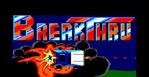 Breakthru - Amstrad CPC de US Gold (1986)