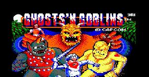 Ghosts'n Goblins - Amstrad CPC de ELITE (1986)