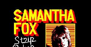 Samantha Fox Strip Poker - Amstrad CPC de MARTECH (1986)