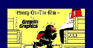 Monty on the Run - Amstrad CPC de Gremlin Graphics (1985)