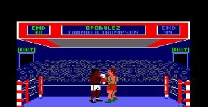 Barry McGuigan World Championship Boxing - Amstrad CPC de Activision (1985)