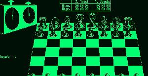 3-D Clock Chess - Amstrad CPW de ACE Software (1985)