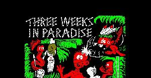 Three Weeks in Paradise - Amstrad CPC de Mikro-Gen (1986)