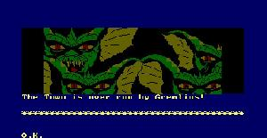 Gremlins the Adventure - Amstrad CPC de Adventure International (1985)
