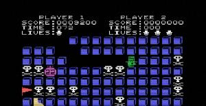 Grid Trap - MSX de Livewire Software (1985)