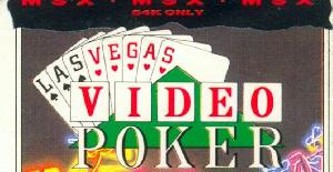 Las Vegas Video Poker - MSX de Mastertronic (1986)