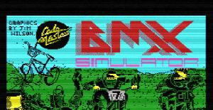 BMX Simulator - MSX de Codemasters (1986)