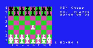 Turbo-Chess - MSX de Artic Computing (1986)