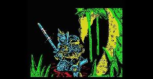 Camelot Warriors - MSX de Dinamic Software (1986)
