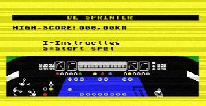 Sprinter - MSX de The Bytebusters (1986)