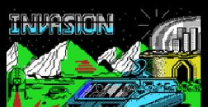 Invasion - MSX de Mastertronic (1987)